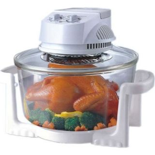 Glass Super Turbo Convection Oven, Sunpentown 12 Liter Round Eletric