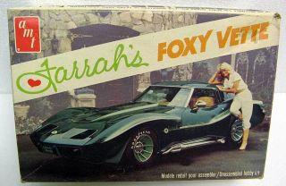 George Barris Farrah Fawcett Corvette Voxy Vette AMT Kit MB