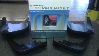 Genuine Honda Accessories Splash Guards for 4 Dr Civic Models 2012