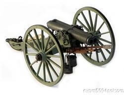 ATHENS DOUBLE BARREL CIVIL WAR CANNON, 1:16 SCALE GUNS OF HISTORY, MIB
