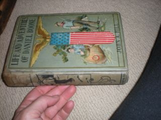 Life Advenures of Daniel Boone Biography George Canning Hill