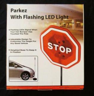 Garage Parking Sensor Stop Sign Flashing LED Stop Light Parkez New