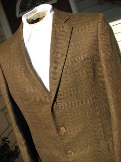 Giorgio Armani Made Italy 44 Autumn Cashmere Sport Coat