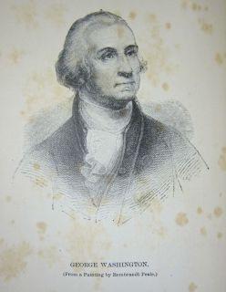 1887 Antique George Washington Revolutionary War US President