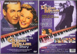 The Glenn Miller Story 1953 DVD New SEALED James Stewart