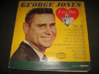 George Jones Love Bug in Records