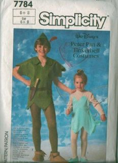 Simplicity Walt Disneys Character Halloween Costume Sewing Pattern