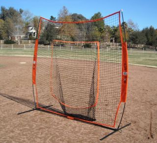 Bownet Big Mouth Portable Soft Toss Practice Net Screen