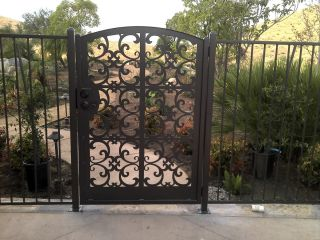 Gate Sale Ornamental Decorative Custom Iron Garden Entry 5 Ft