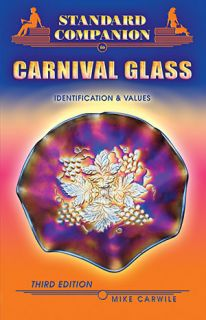 CARNIVAL GLASS PRICE GUIDE Collectors BOOK Color Pictures 288 page On