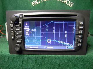GM Chevy Cadillac Navigation DVD Radio 15204335 Lux 30 Days Warranty