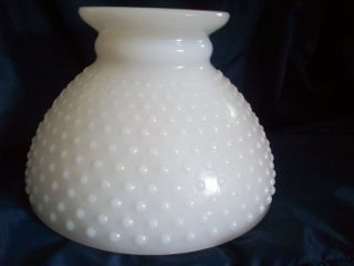 Milk Glass Hobnail Glass Lamp Shade
