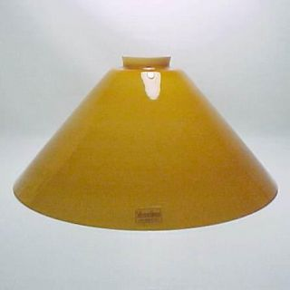 Glass 2 25 X 12 Floor Pendant Lamp Shade Pool Table Light Gold New