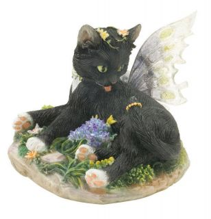 Zoe Fairy Cat Figurine from The Faerie Glen Collection