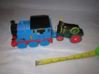 Thomas Friends Pull String Go Train Green Trevor Trains Toy