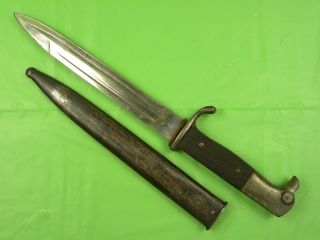 RARE German Germany WW1 Fighting Knife Dagger