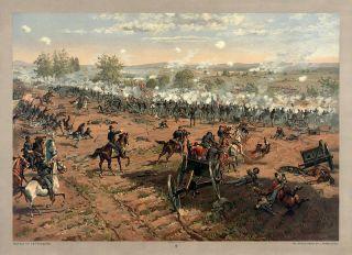 ... the Gettysburg War~ http://en.wikipedia.org/wiki/ ...