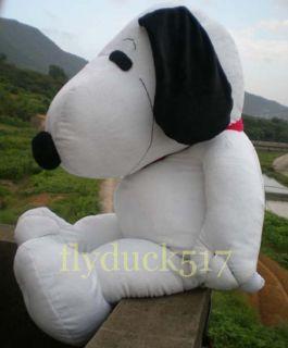 Feet Giant Snoopy Dog Puppy w Tie Big Plush Toy 43
