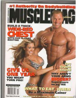 Bodybuilding Fitness Magazine C J Gibson Gary Strydom 7 06 290