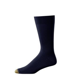 Gold Toe Mens Dress Socks Metropolitan Navy 3 Pairs