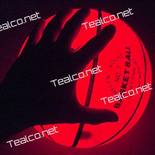 LED Light Up Night Game Basketball Better Than Glow in The Dark
