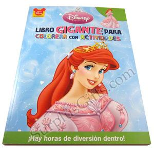 Disney Ariel Gigante Spanish Coloring and Activity Book