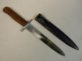 German WWII Knife with Scabbard