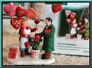For Your Sweetheart NEW Department Dept. 56 Christmas In The City