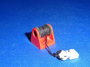 LEGO CITY TOWN GAS STATION MECHANIC RED TOW TRUCK HOOK VEHICLE PARTS