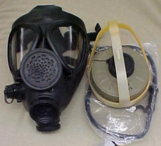 New Israeli Military M15 Gas Mask w Filter Drinking Tube