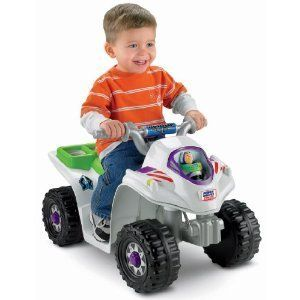 Kids Power Wheels Disney Toy Story Lil Quad Boys Ride on Buzz