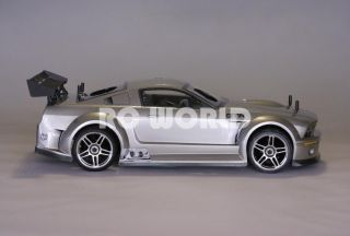 10 RC Ford Mustang Nitro Gas Car 2 Speed RTR Brand New 40 MPH