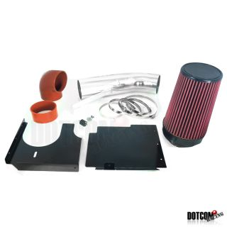 01 05 GMC Sierra 1500HD 6 0L Cold Air Intake 2500HD Red Chrome