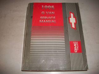 1995 CHEVROLET GMC G VAN 1500 2500 3500 VAN VANDURA SERVICE SHOP