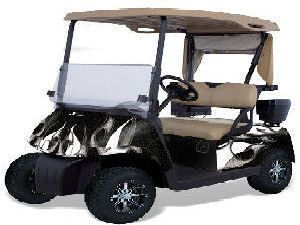Cut Precut Camoskinz Camoflauge Vinyl Wraps EZ Go Golf Cart Kit