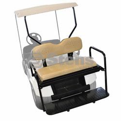 EZ Go TXT Golf Cart Rear Back Seat Kit