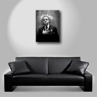 Godfather Brando DVD Portrait Oil Painting Canvas Art Giclee Print