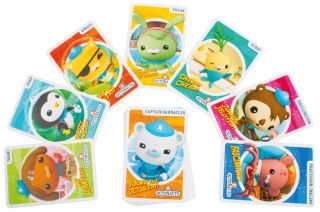 RAVENSBURGER === Octonauts Giant Card Games === GAMES