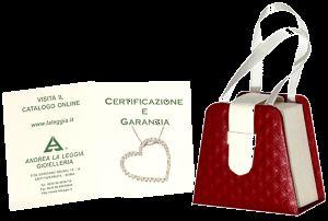 Orecchini Monachina Argento 925 Con Brillanti CZ E Perle Art A033