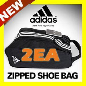 New Adidas Golf Shoe Bag Sports shoe case Tote Bag Golf Travel Zipper