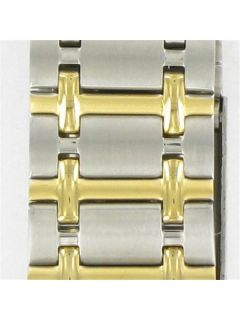 Casio Mens Size Gold Silver Two Tone Metal Watch