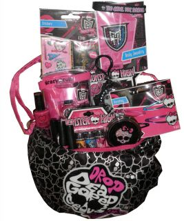 Monster High Drop Dead Gorgeous Birthday Gift Basket