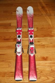 Chica Junior Girls Skis Marker 4 5 Bindings Bonus Roxy Poles