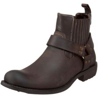 NEW GBX 132242 HARNESS LEATHER MOTORCYCLE BOOTS MENS SIZE 11.5