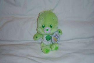NEW Care Bears GOODLUCK CUBS 2006 Plush STUFFED NANCO AMERICAN