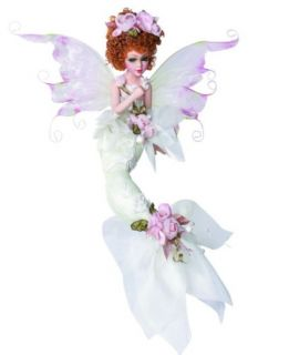 Sea Princess Mermaid Porcelain Doll Goldenvale Redhair