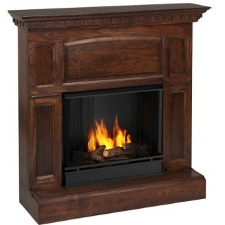 Real Flame Heritage GEL Fireplace Heater MAHOGANY 7 LEFT CLOSEOUT
