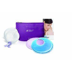 Avent BPA Free Breastcare Essentials Set Thermal Gel Pads