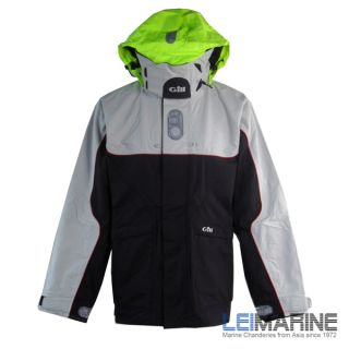 Gill Mens Cruise Jacket IN5J Sailing Marine Full Weather Gear Fishing