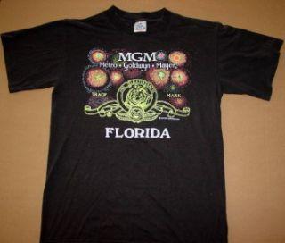 Vtg MGM Metro Goldwyn Mayer Shirt Medium Florida Disney